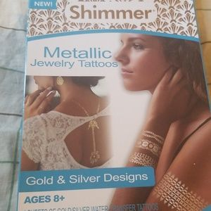 Other - Shimmer Metallic jewelry tattoos
